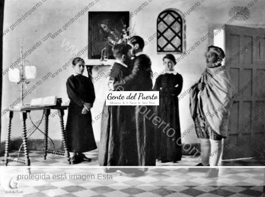 4.392. 'El Divino Impaciente' de Pemán. Estreno en El Puerto en 1934, por un grupo de aficionados. (Parte I)