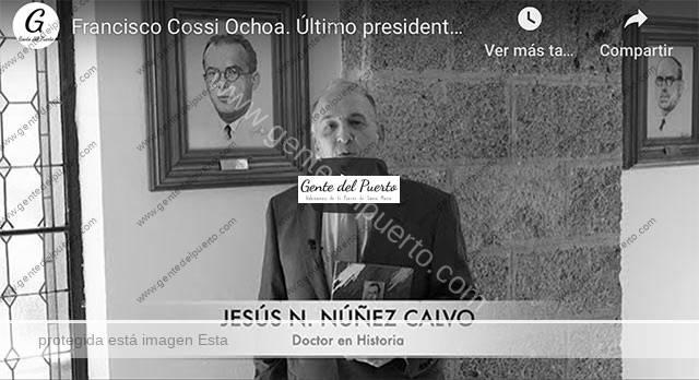 4.407. Francisco Cossi Ochoa. Último presidente de Diputación en la II República. Micro Historias de El Puerto (18)