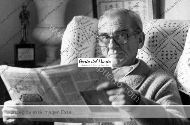 4.460. Antonio Gómez Sánchez. 'La buena madre' Capataz de Bodegas Osborne