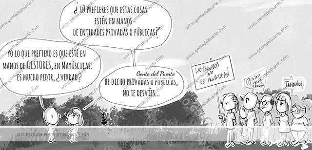 4.476. La viñeta de @elDescosido. Los Toruños y sus gestores