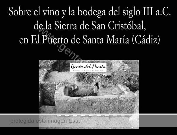 4.472. Nuevo libro de Ruiz Mata: 'Sobre el vino y la bodega del siglo III a.C. de la Sierra de San Cristóbal'