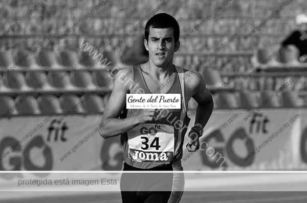 4.507. Enrique Salagre Simón. Bronce en atletismo. Campeonato de España Sub-18