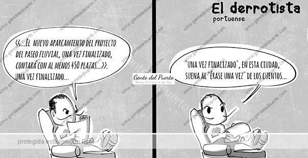 4.490. La Viñeta de @elDescosido. El derrotista portuense