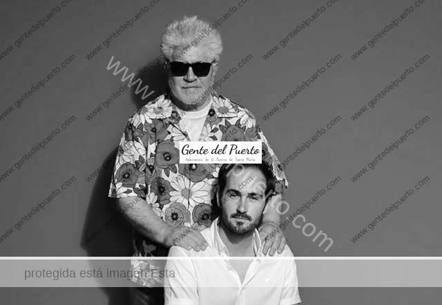 4.496. Manolo Gago trabaja en el corto de Almodóvar 'La voz humana'