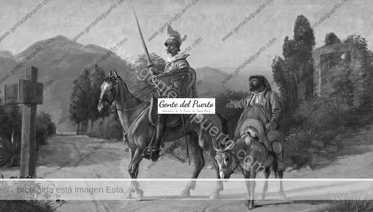 4.520. Don Quijote en El Puerto. Por Luis Suárez Ávila.