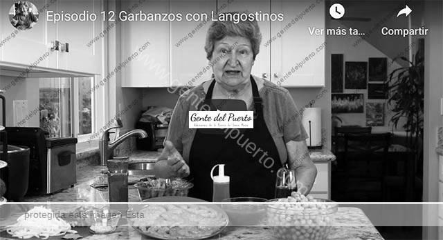 4.535. Fina de la Cruz Carreto. La popular cocinera de 'El Garitón', en YouTube