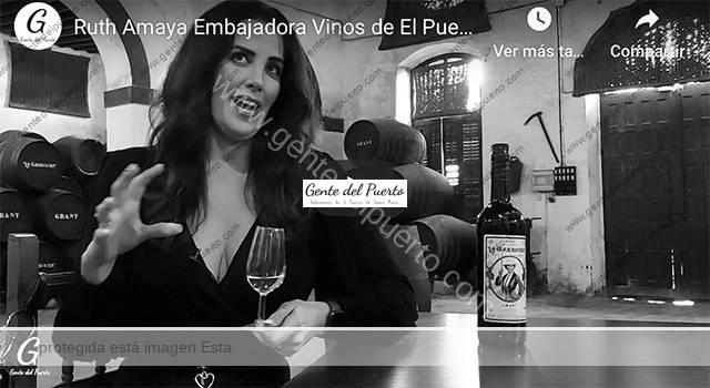 4.523. Ruth Amaya. Embajadora de los Vinos de El Puerto en el mundo