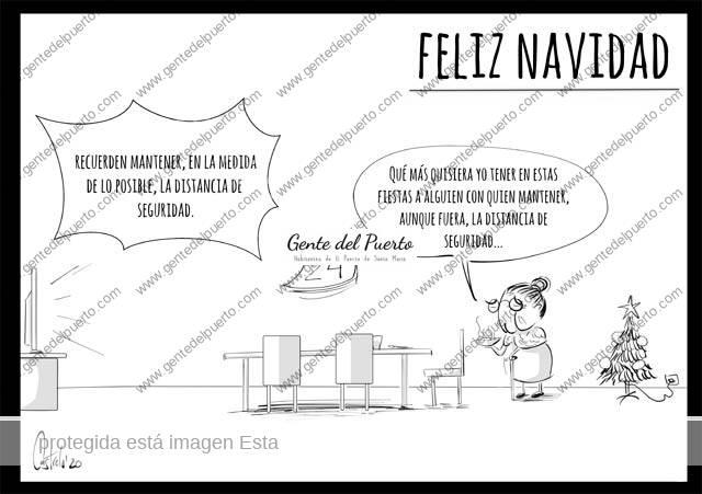 4.568. La viñeta de @elDescosido. Distancia, lotería y la Nochebuena de Muñoli
