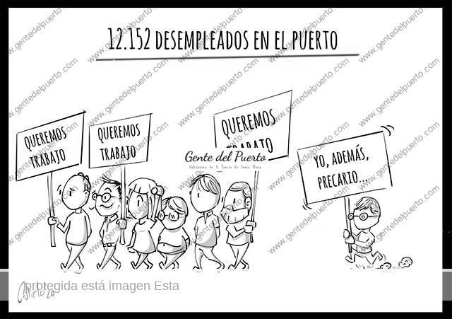 4.553. La viñeta de @elDescosido. 12.152 parados