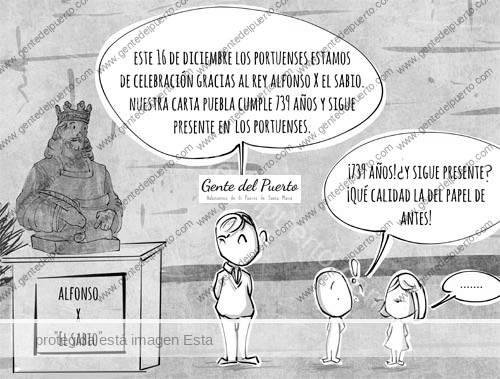 4.559. La viñeta de @elDescosido. Nuestros Orígenes Históricos: De Alcanate a El Puerto de Santa María