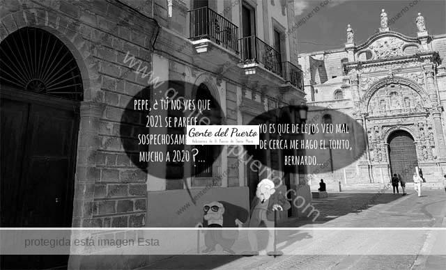 4.582. La viñeta de Alberto Castrelo. Pepe y Bernardo llegan a GdP