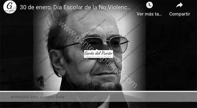 4.606. El 30 de enero, Día Escolar de la No Violencia y la Paz