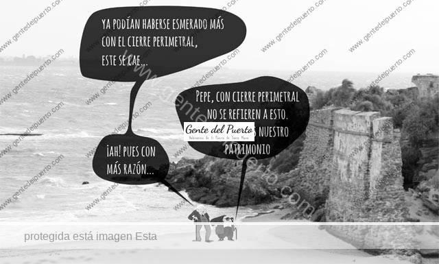4.610. La viñeta de Alberto Castrelo. Decretado el cierre perimetral de El Puerto