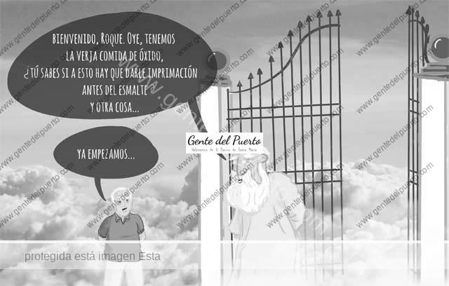4.617. La viñeta de Alberto Castrelo. La llegada de Roque …
