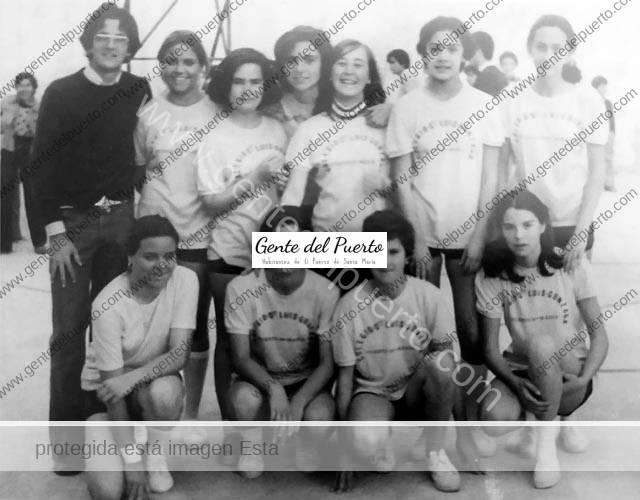 4.641. Primer equipo de baloncesto femenino en San Luis Gonzaga