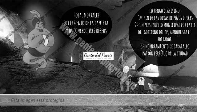 4.691. La viñeta de Alberto Castrelo. El genio de la Cueva Cantera