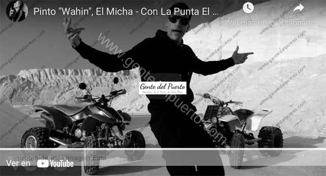 4.725. Pinto Whahin y El Micha. 'Con la punta el pie'. Video oficial