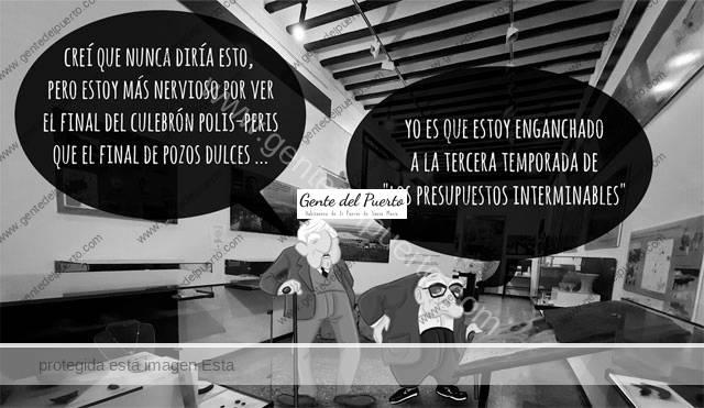 4.740. La viñeta de Alberto Castrelo. Series, películas y plataformas en el Ayuntamiento