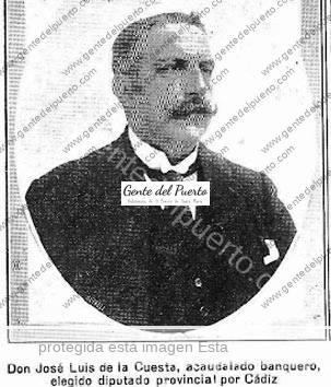 4.756. José de la Cuesta Gómez. Banquero
