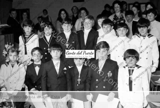 4.782. Primera Comunión en La Salle curso 1975-76