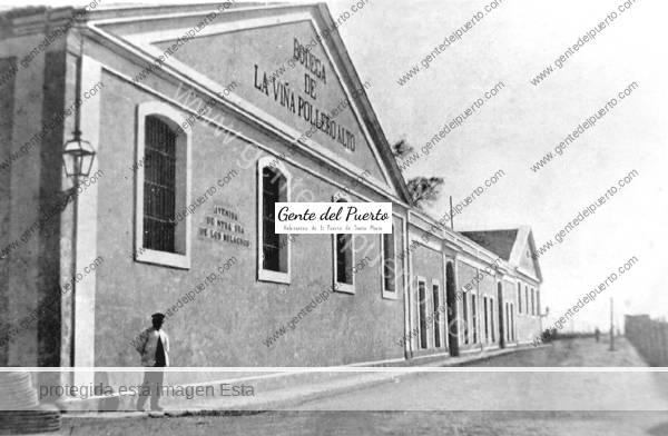 4.795. Publicidad de la bodega Pollero Alto, en catalán