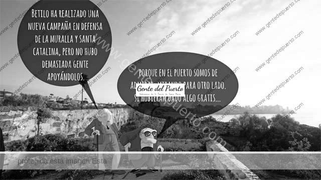 4.813. La viñeta de Alberto Castrelo. Las murallas y la ruina