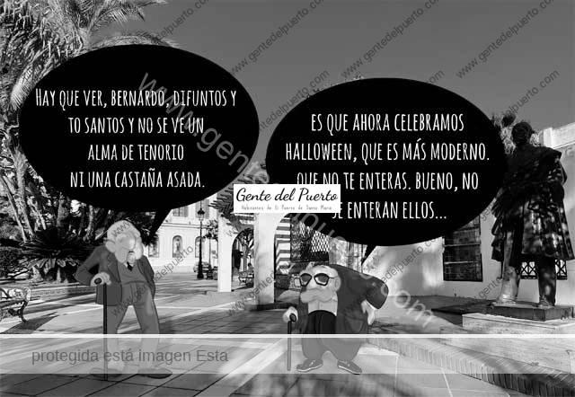 4.862. La viñeta de Alberto Castrelo. Difuntos, Tosantos y Halloween