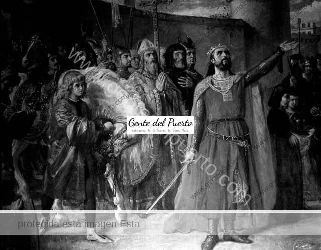4.845. En el 800 aniversario del fundador de El Puerto: Alfonso X 'el Sabio'