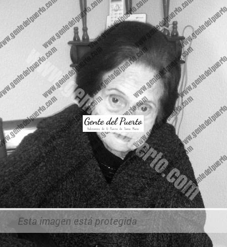 4.844. Ángeles Cárdenas Domínguez. Una vecina de la calle Zarza