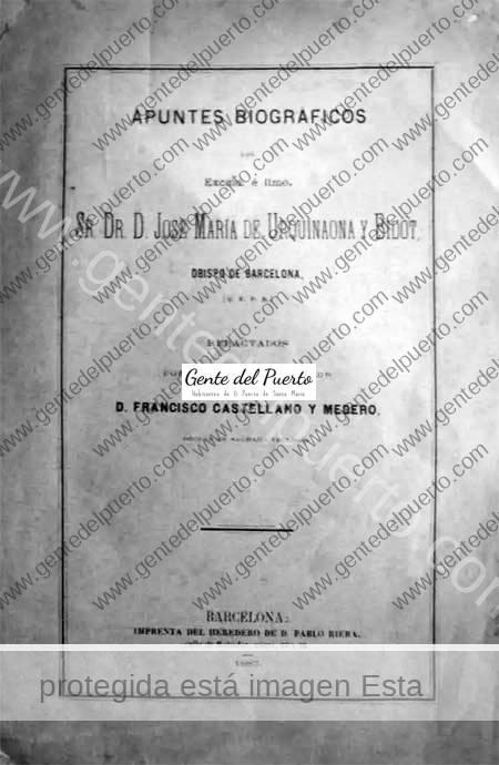 4.861. Francisco Castellano Medero, biógrafo y 'familiar' del Obispo Urquinaona